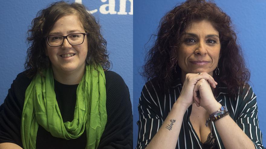 Verónica Ordóñez y Rosana Alonso. | JOAQUÍN GÓMEZ SASTRE