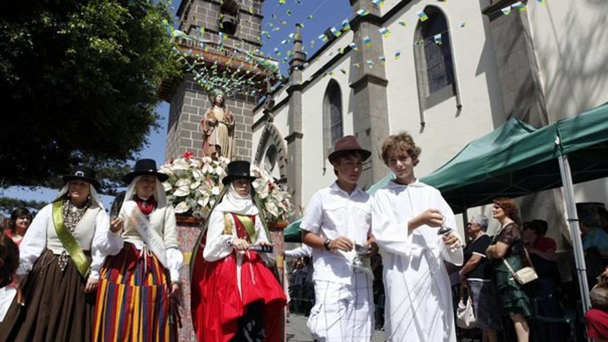 De la romería en Santa Brígida #4