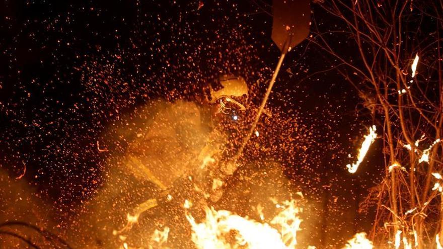 Los incendios forestales en Asturias se elevan a casi un centenar