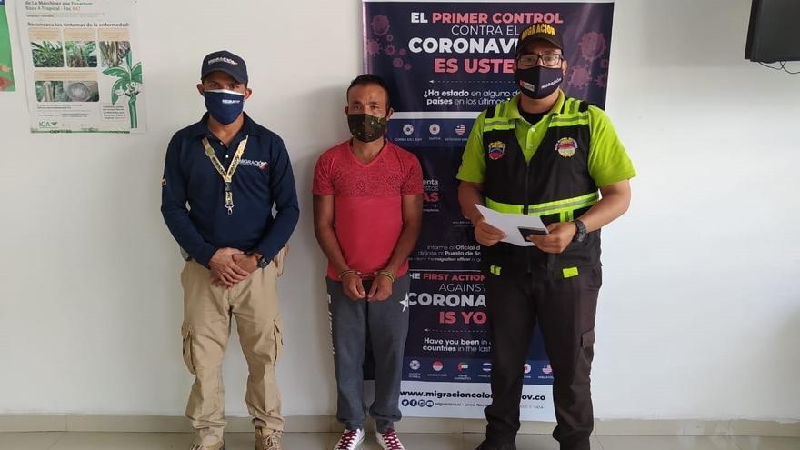 Colombia expulsa a sargento venezolano que estaba irregular en su territorio