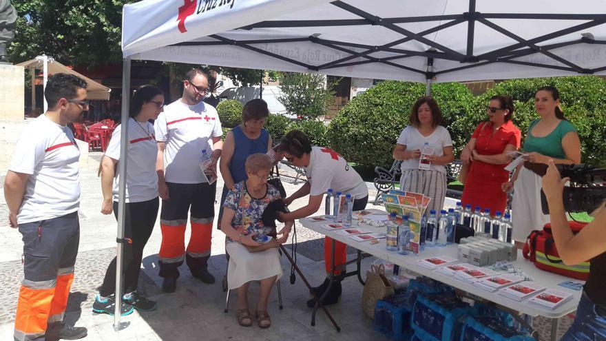 Caravaca se suma a la campaña de concienciación con motivo del 'Día Mundial de los Primeros Auxilios'
