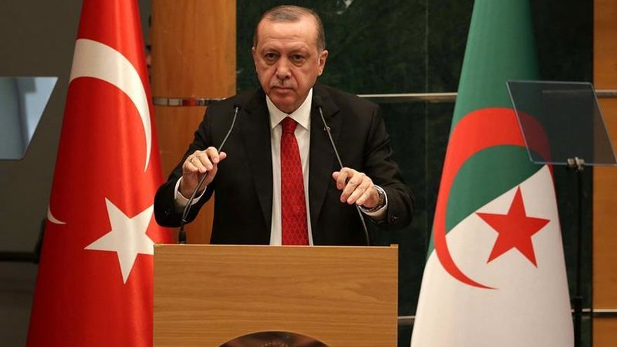 El presidente de Turquía espera que Afrín caiga hoy ante el Ejército turco