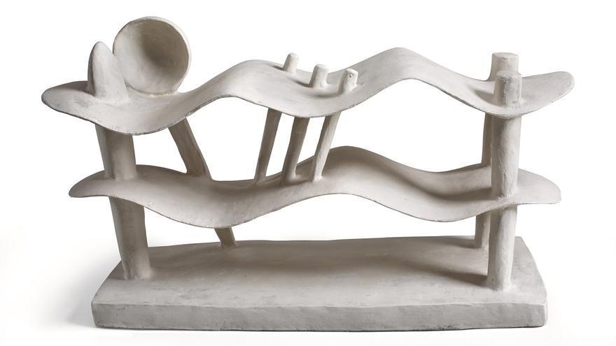 Alberto Giacometti Femme couchée qui rêve [Mujer acostada soñando], 1929