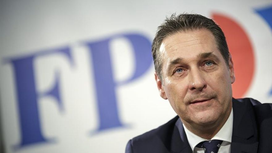 Heinz-Christian Strache, reelegido sin oposición el líder de los ultras austríacos