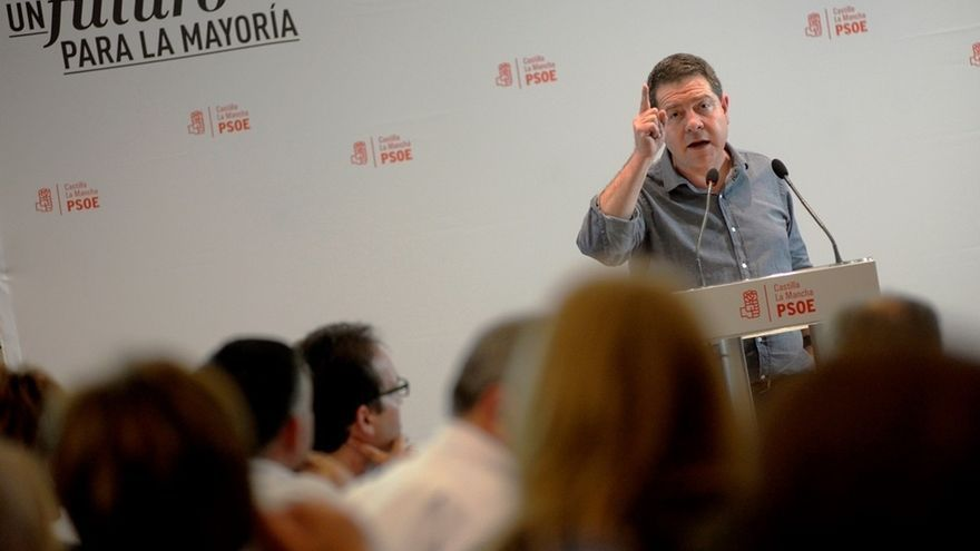 """García-Page augura """"más recortes"""" si Mariano Rajoy vuelve a ser el presidente del Gobierno"""