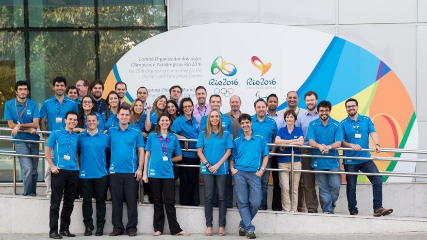El equipo de Atos que está trabajando en Río 2016