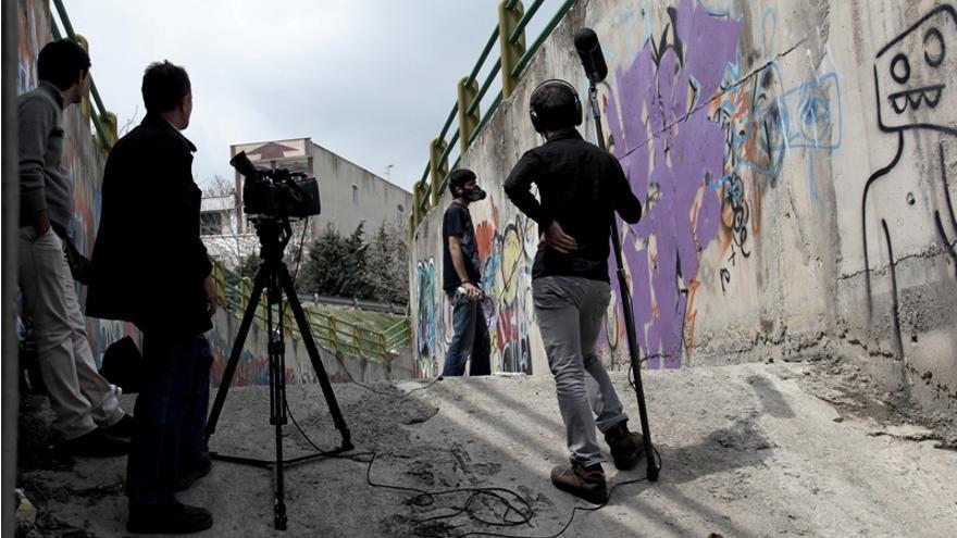 Escena de la película Writing on the city