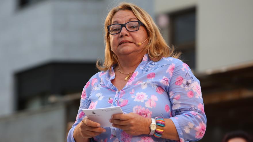 La secretaria general de Podemos en Canarias, Meri Pita
