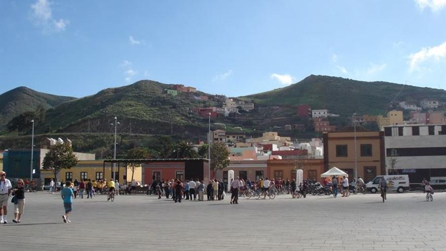 Plaza del Cristo, en La Laguna.