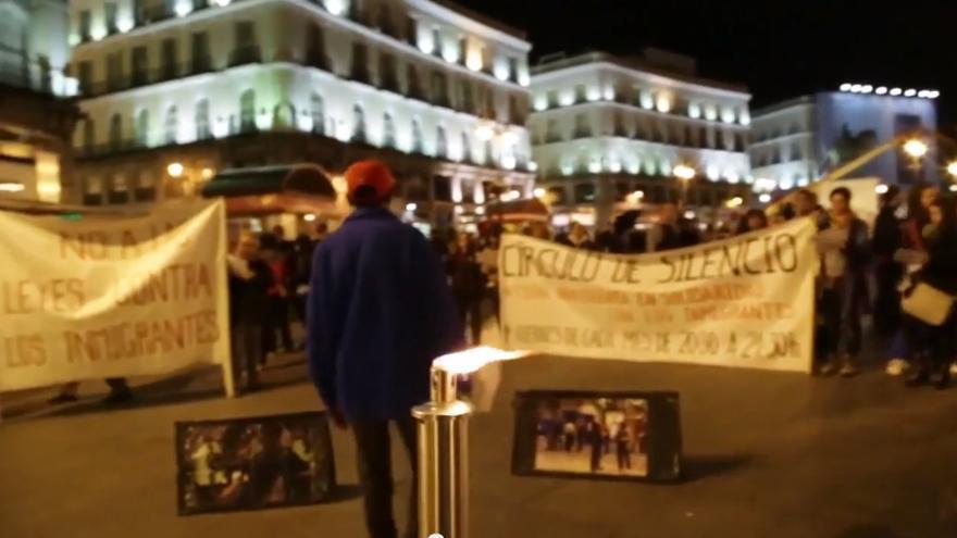 Captura del documental Círculos de Silencio que se presenta el próximo 18 de octubre en Madrid