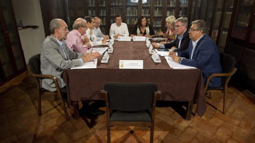 La reunión de alcaldes del PP en Antequera