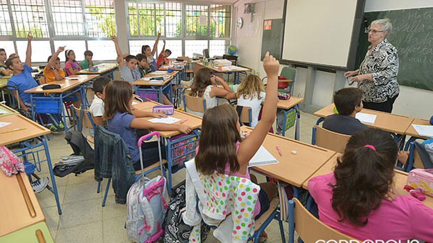 Alumnos en un colegio de Córdoba | MADERO CUBERO