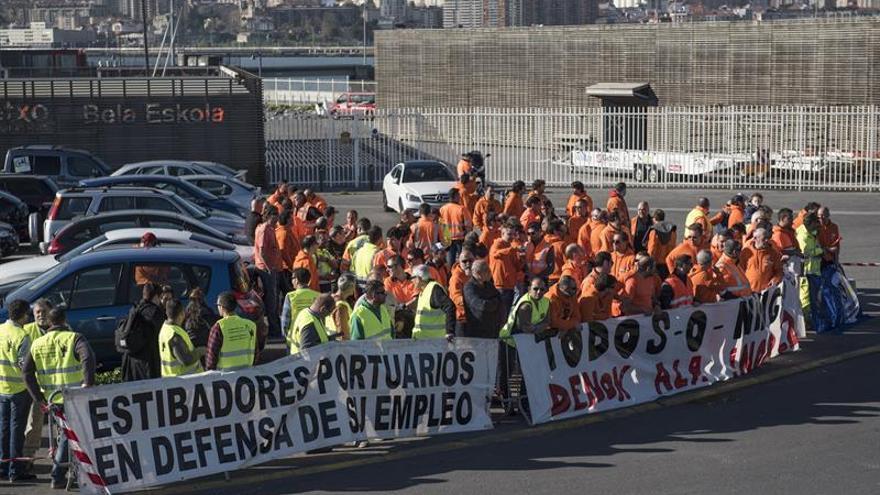 El presidente de Puertos confía en un acuerdo entre empresas y estibadores