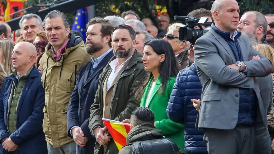Vox lamenta la actitud de Ciudadanos por su preocupación por la foto final de la concentración de Colón