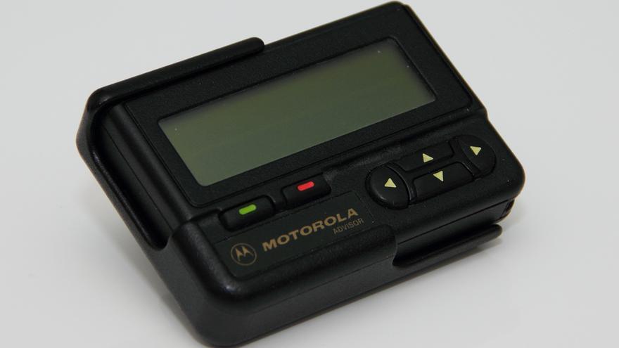 El 'busca' Motorola Advisor (Foto: Hades2k)