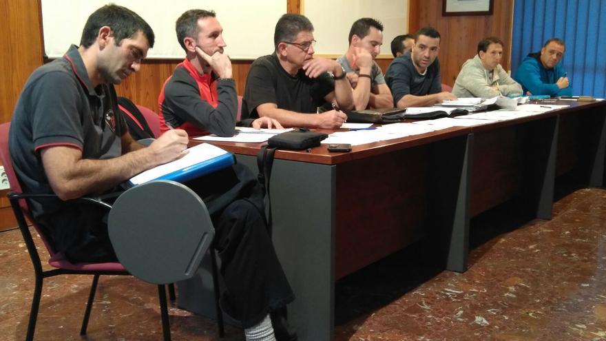 La Junta de Personal del Consorcio de Bomberos, durante la asamblea de este jueves