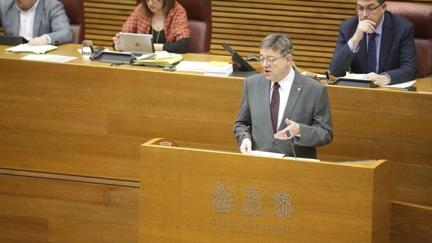 """Puig insiste en que seguirá exigiendo """"la condonación de la deuda histórica"""" del Estado con la Comunidad Valenciana"""