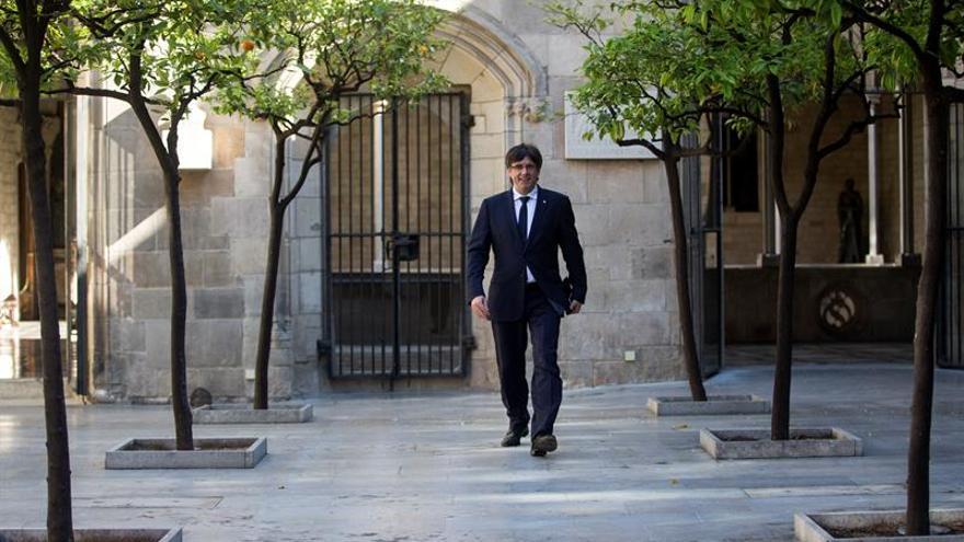 """Puigdemont: """"No contemplamos otro escenario que no sea votar"""""""