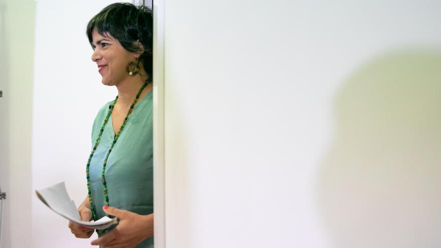 Teresa Rodríguez exige a Moreno y al PSOE que defiendan el acuerdo sobre financiación que aprobó el Parlamento andaluz