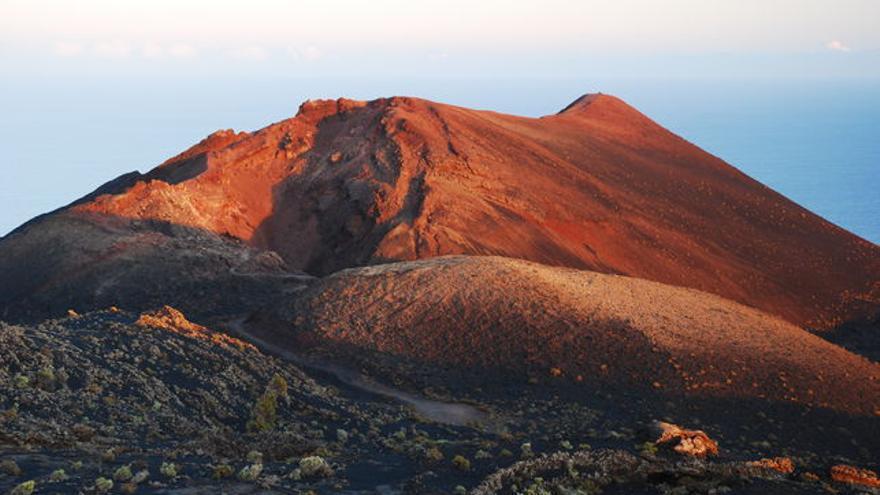 En la imagen, el volcán de Teneguía. Foto: JUAN JOSÉ SANTOS.