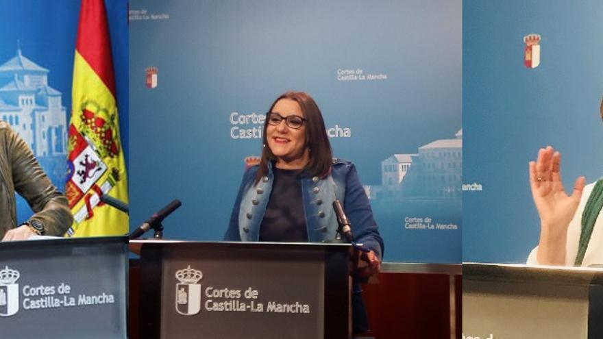 PSOE, PP, Podemos,