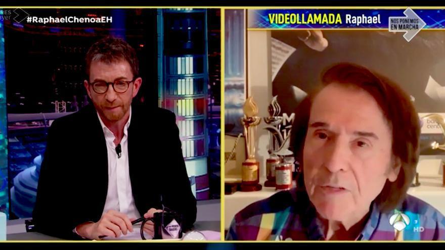 Raphael, en 'El Hormiguero' por videollamada