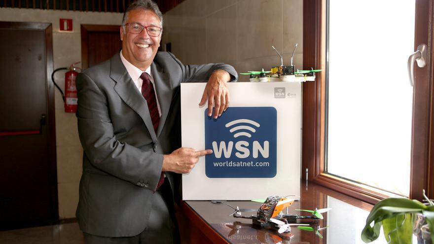 José Luis García, director general de World Satellite Networks