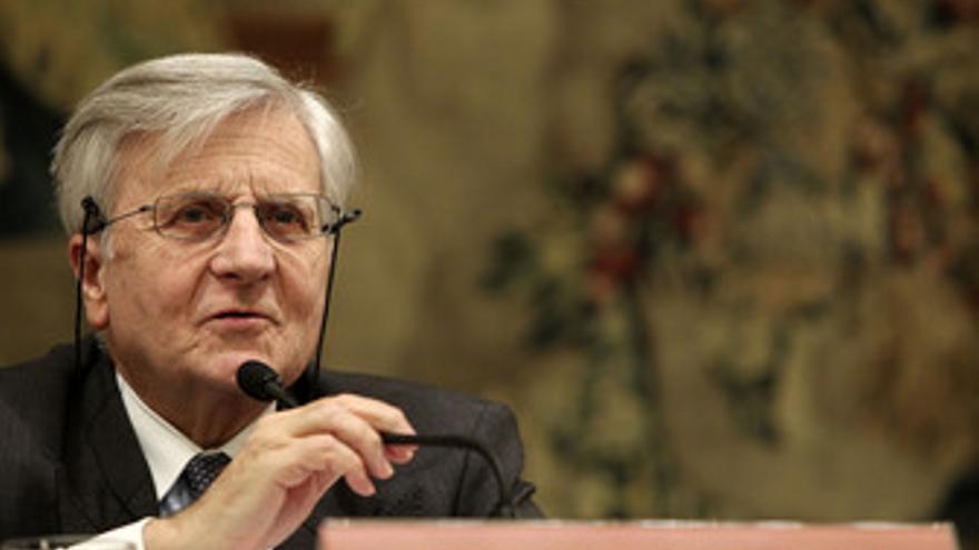 El prseidente del BCE, Jean-Claude Trichet, en Madrid