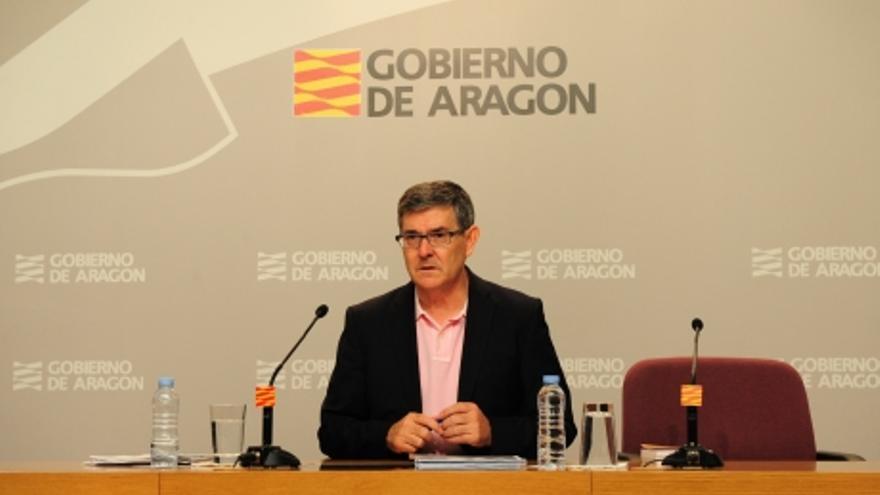 Vicente Guillén, portavoz del Gobierno de Aragón.