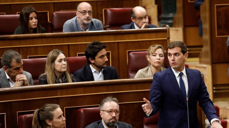 Rivera anuncia que Ciudadanos abandona la Comisión Territorial del Congreso impulsada por el PSOE