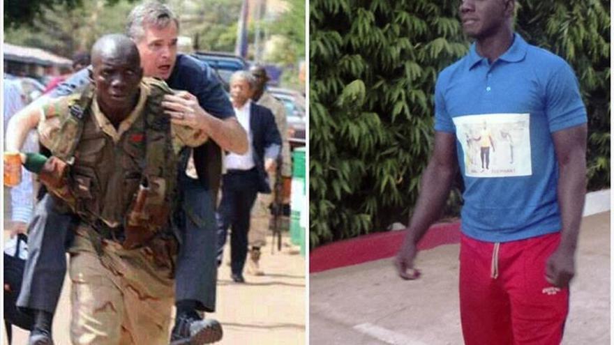 El atleta Dembélé, héroe de los socorristas del ataque de Bamako