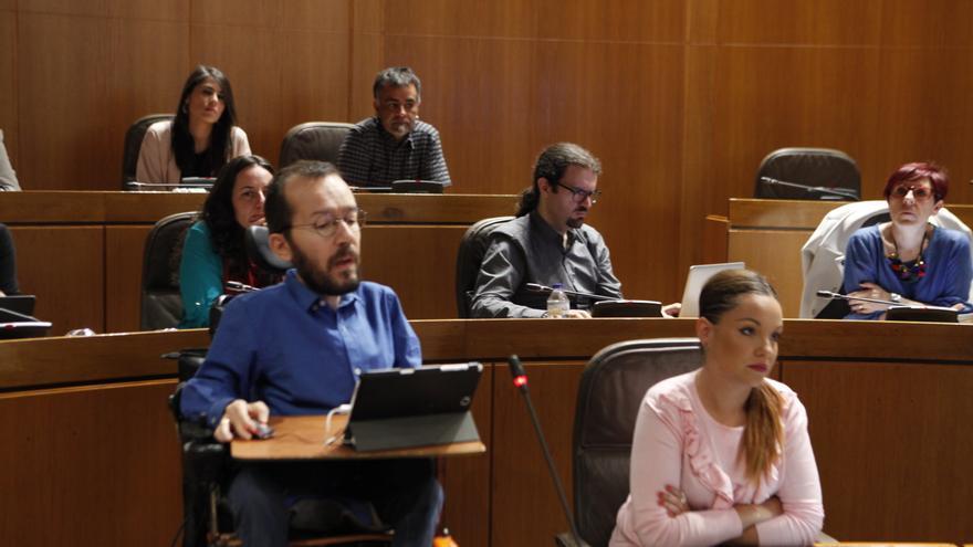 Podemos apoyará al PSOE en los presupuestos de Aragón.