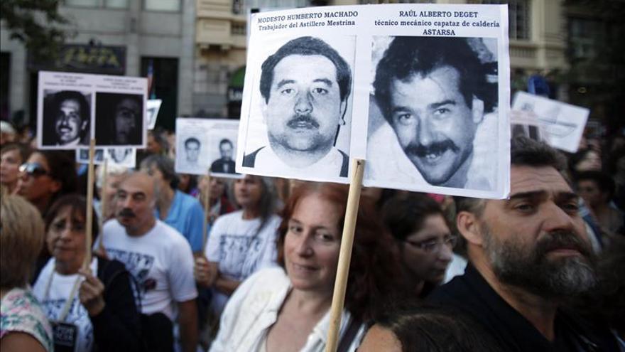 Cadena perpetua para exmilitar y expolicía por delitos en el régimen argentino
