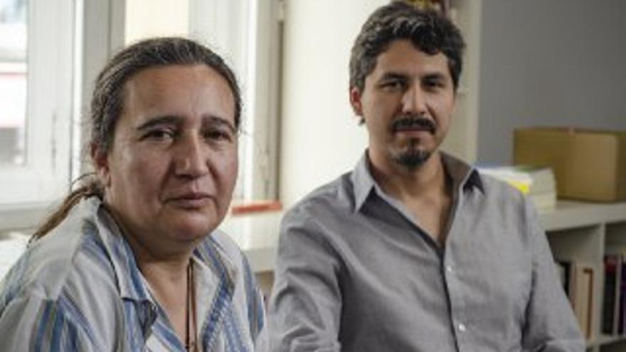 Raquel Rodríguez Alonso y Mario Espinoza Pino.