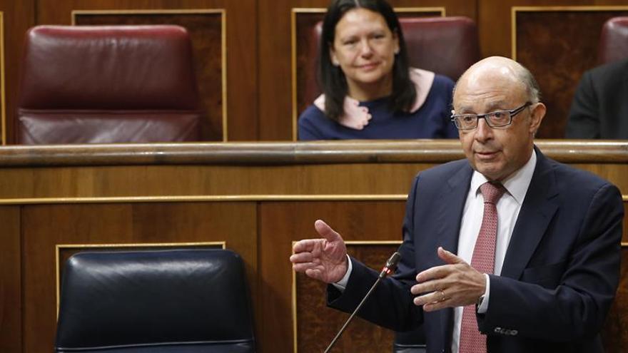 """Montoro reprocha al PSOE que la estabilidad está en """"alinearse"""" en las votaciones"""