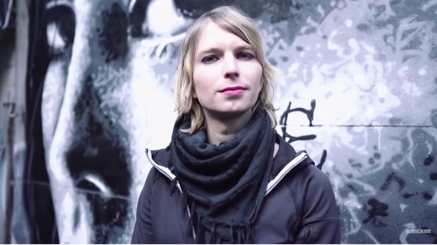 Chelsea Manning en el vídeo mediante el cual anunció su candidatura al Senado por el estado de Maryland.