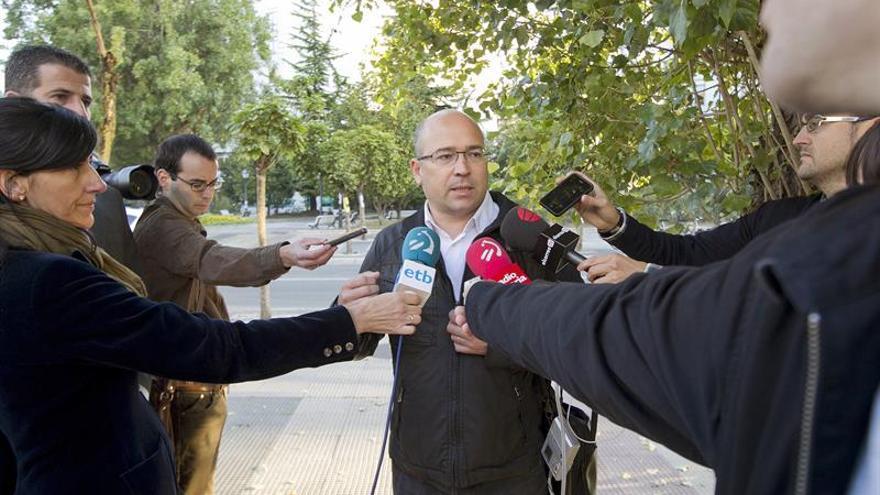 El exdirigente del PNV alavés dice que es inocente y que no hay pruebas contra él