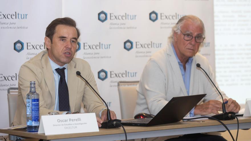 """Exceltur avisa del """"súbito frenazo"""" en las reservas extranjeras por los rebrotes"""