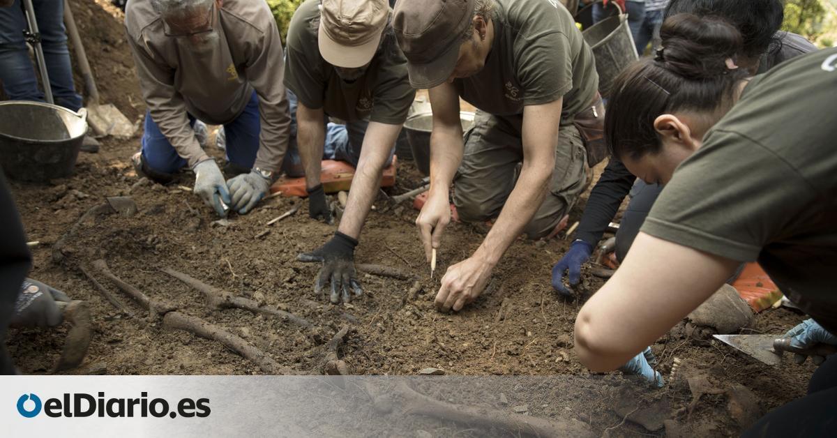 MAPA | El  plan de choque  de España con las fosas del franquismo: 114 exhumaciones y 1,5 millones de euros