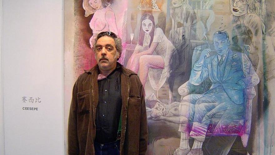 Fallece Carlos Sánchez, Ceesepe, el ilustrador de la movida madrileña