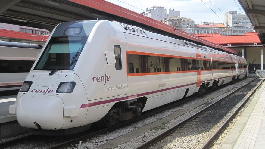 Imagen de archivo de un tren de Renfe.