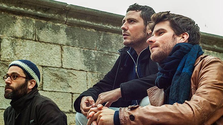 Marco Mezquida, Ernesto Aurignac y Ramón Prats, integrantes de M.A.P.
