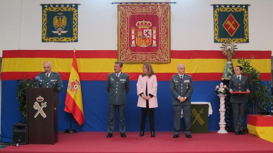 """La Guardia Civil de Navarra celebra el 172º aniversario de su fundación con el reto de """"seguir mejorando"""""""