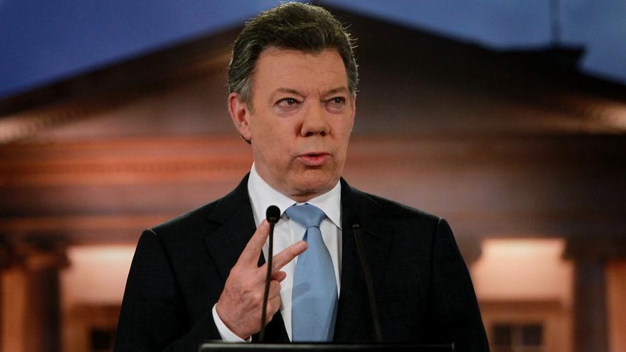 La popularidad de Santos crece un 18 por ciento tras anunciar un proceso de paz con las FARC