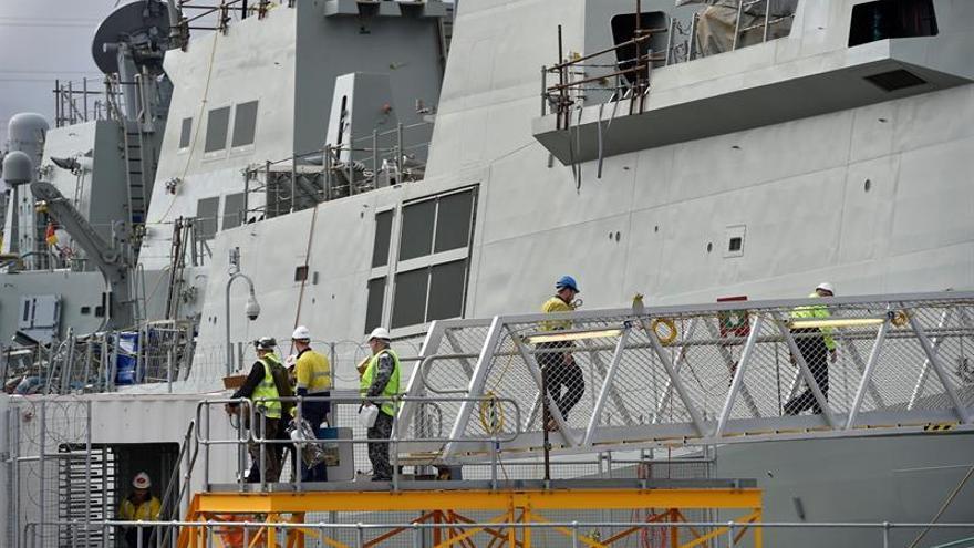 Australia estrena buque de diseño español para mantener la paz en la región