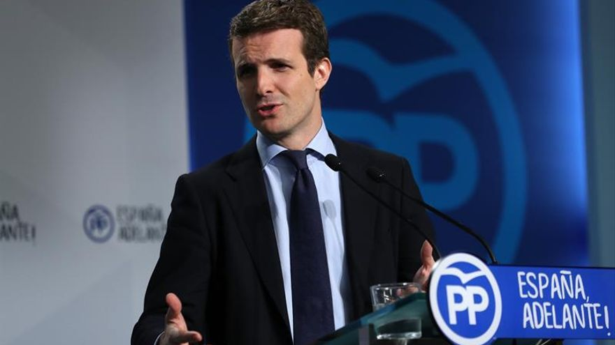 """El PP arremete contra el PSOE por su """"ambigüedad en pleno desafío secesionista"""""""