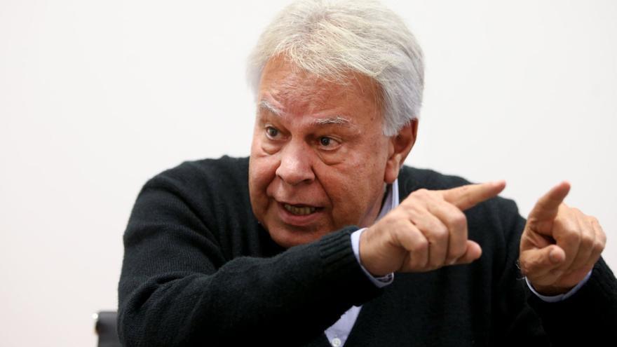 Felipe González en la entrevista de El País