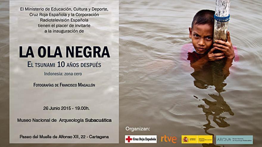 La Ola Negra, exposición que muestra el trabajo de Cruz Roja en la zona del tsunami