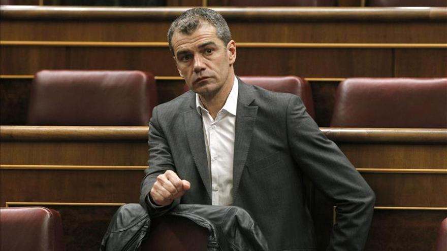 El diputado de Ciudadanos, Toni Cantó, en el Congreso de los Diputados.