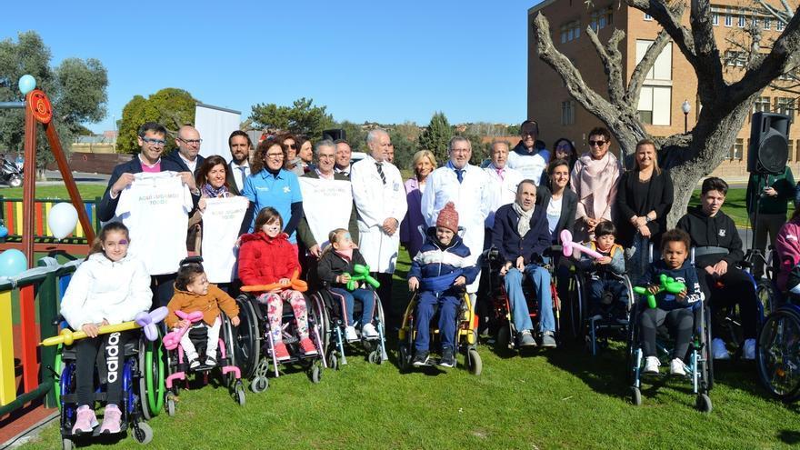 El Hospital de Parapléjicos de Toledo cuenta desde este miércoles con el primer parque totalmente inclusivo de C-LM